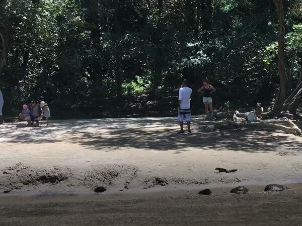 Small beach at Llanos de Cortes.