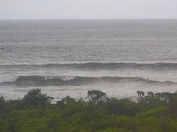 Live view of the surf and weather condition just south of Nosara Costa Rica