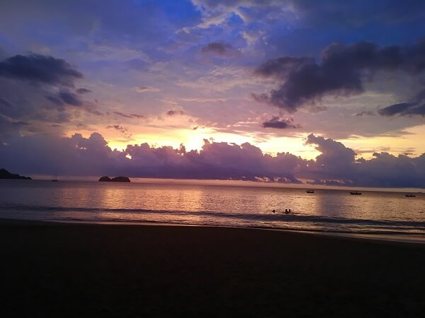 Sunset in Playa Hermosa Guanacaste